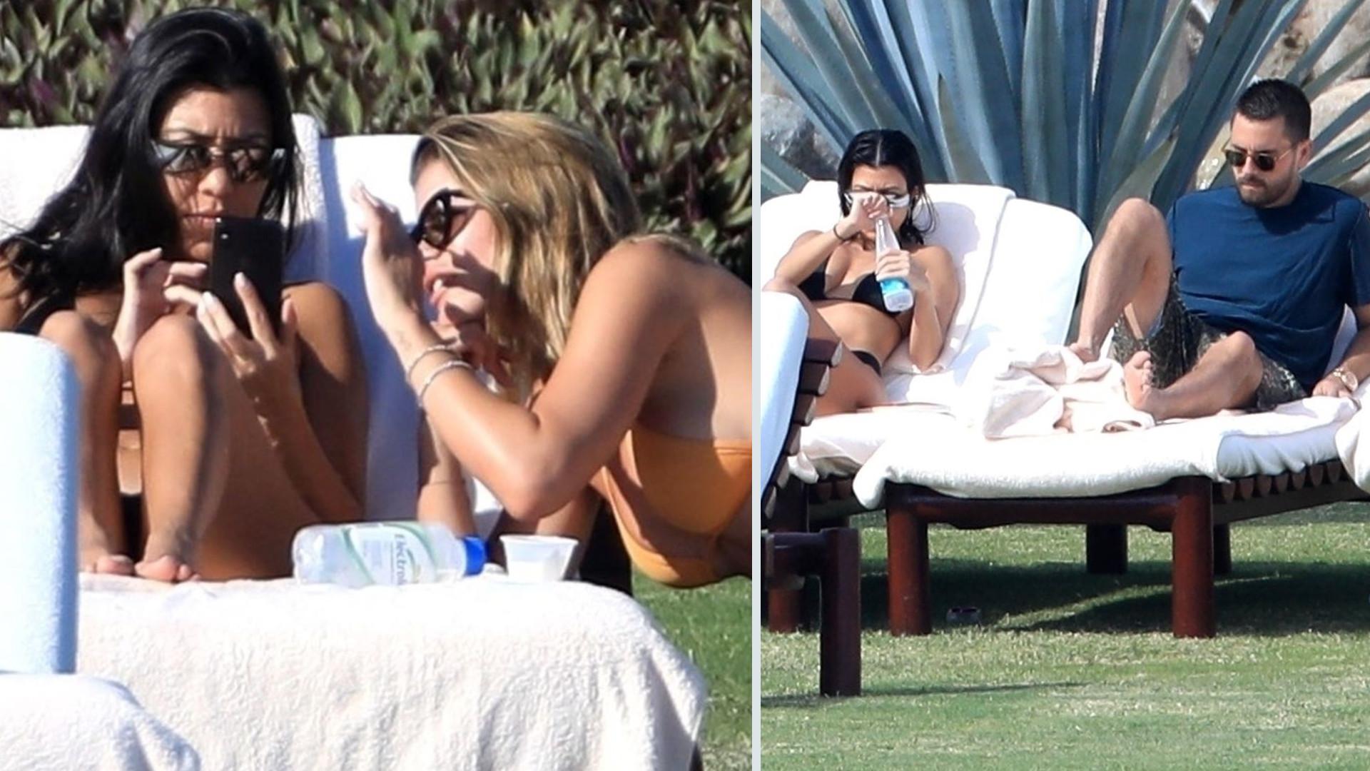 Kourtney Kardashian TŁUMACZY się z wyjazdów ze Scottem Disickiem i Sofią Richie