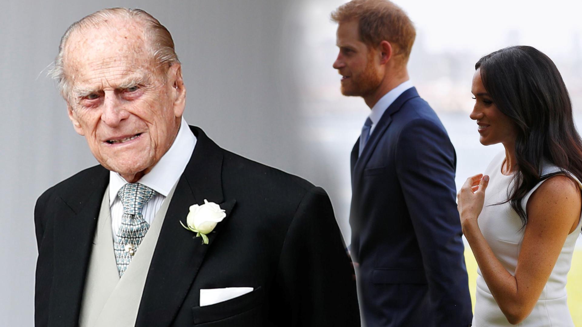 Książę Filip OSTRZEGAŁ księcia Harry'ego przed księżną Meghan. Wypowiedział bolesne słowa