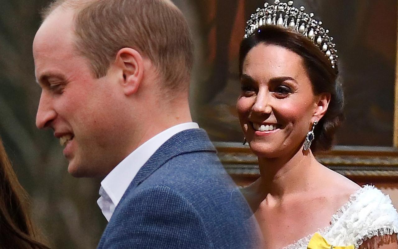 Podczas bankietu Kate Middleton nie usiadła koło księcia Williama. Nie rozmawiali ze sobą