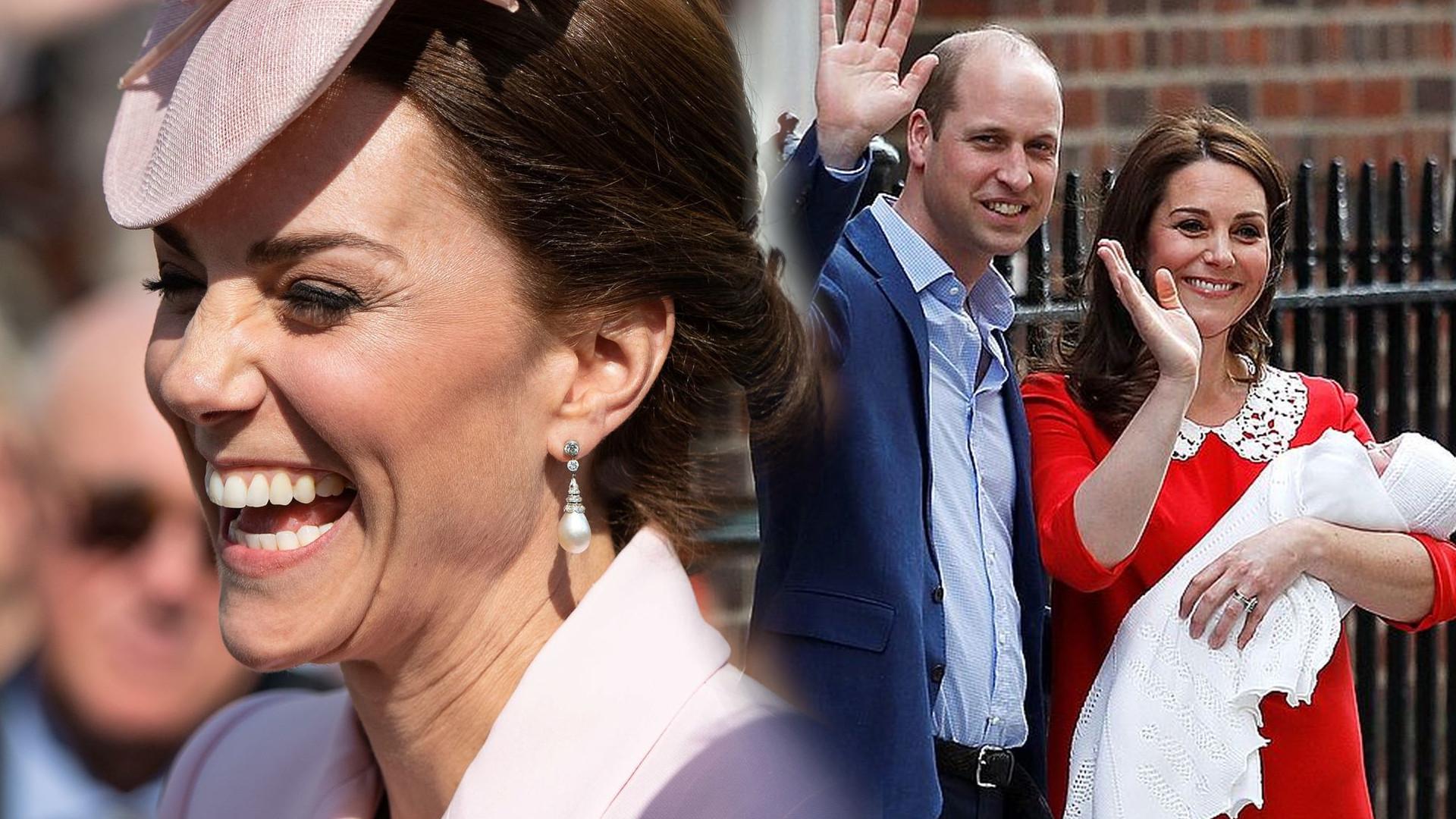 Księżna Kate o czwartym dziecku – komentując plotki wbiła SZPILĘ Williamowi
