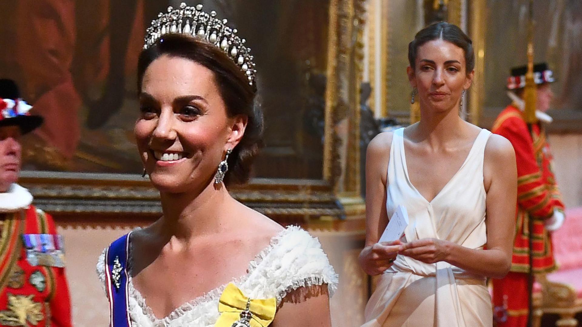 Kochanka księcia Williama przyszła na bankiet, na którym była księżna Kate (ZDJĘCIA)