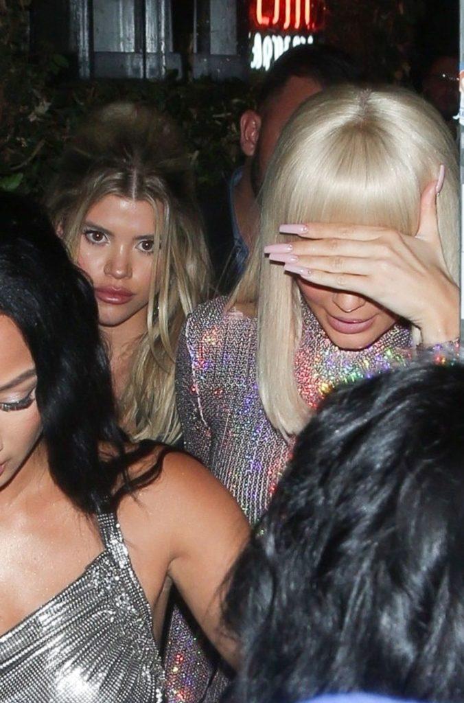 Kylie Jenner imprezuje z Sofią Richie