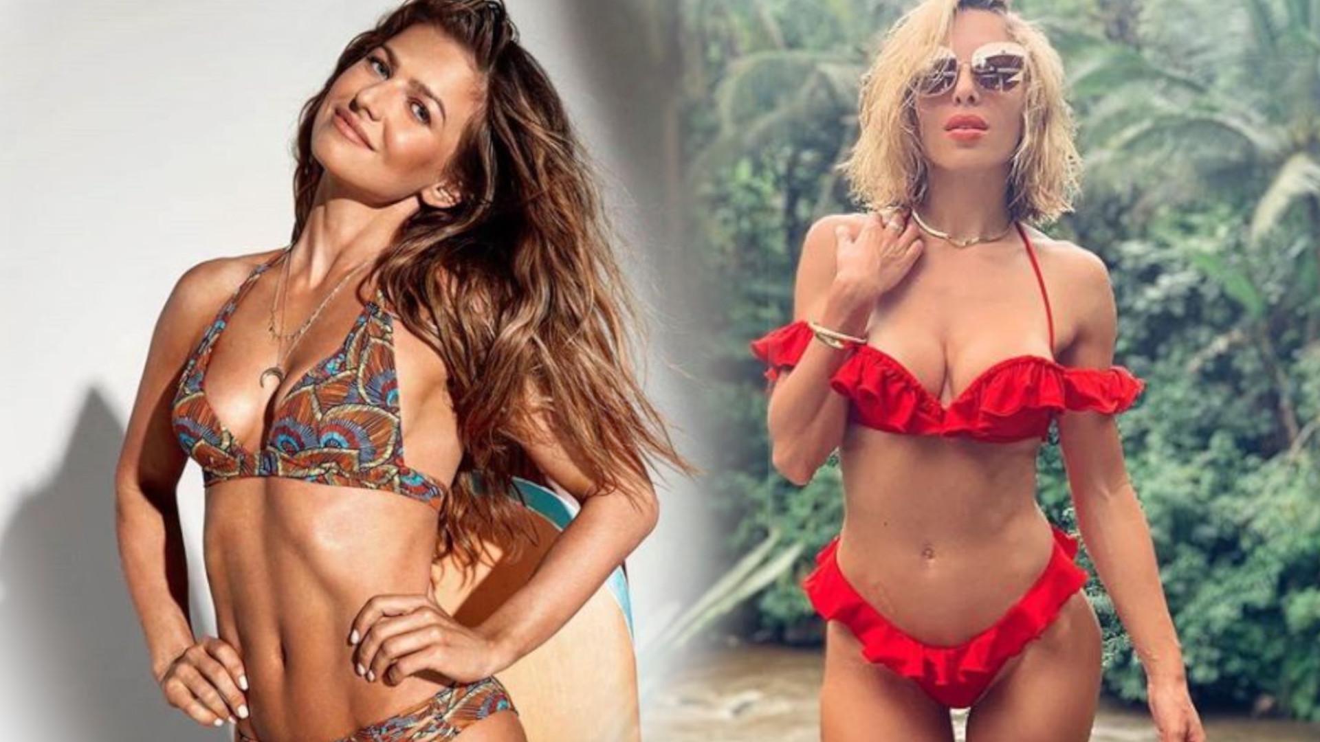 WOW! Anna Lewandowska w pięknym bikini – to odpowiedź na seksowne zdjęcia w kostiumie Ewy Chodakowskiej?