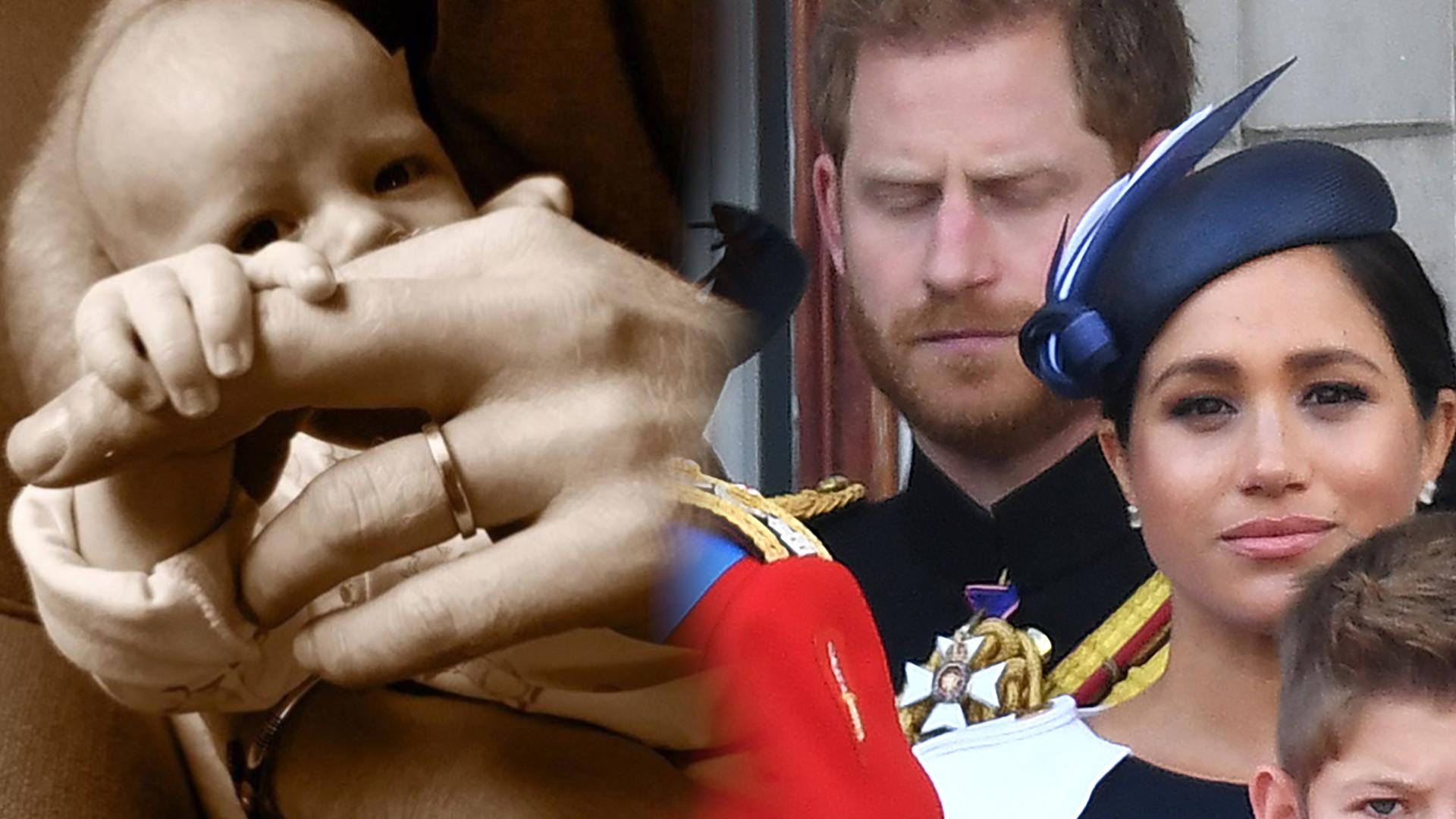 Meghan Markle i książę Harry ukryli coś na nowym zdjęciu Archiego! Tajemnica wyjdzie na jaw