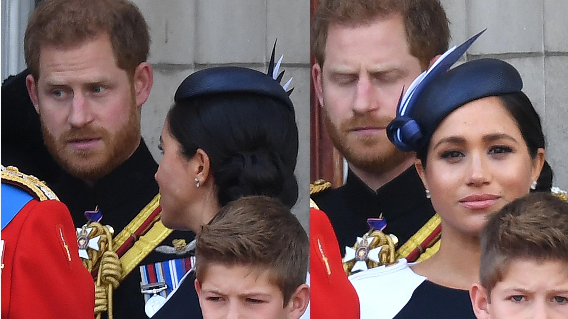 TE SŁOWA wypowiedział Harry do Meghan na balkonie. Wyszło na jaw, dlaczego księżnej było przykro