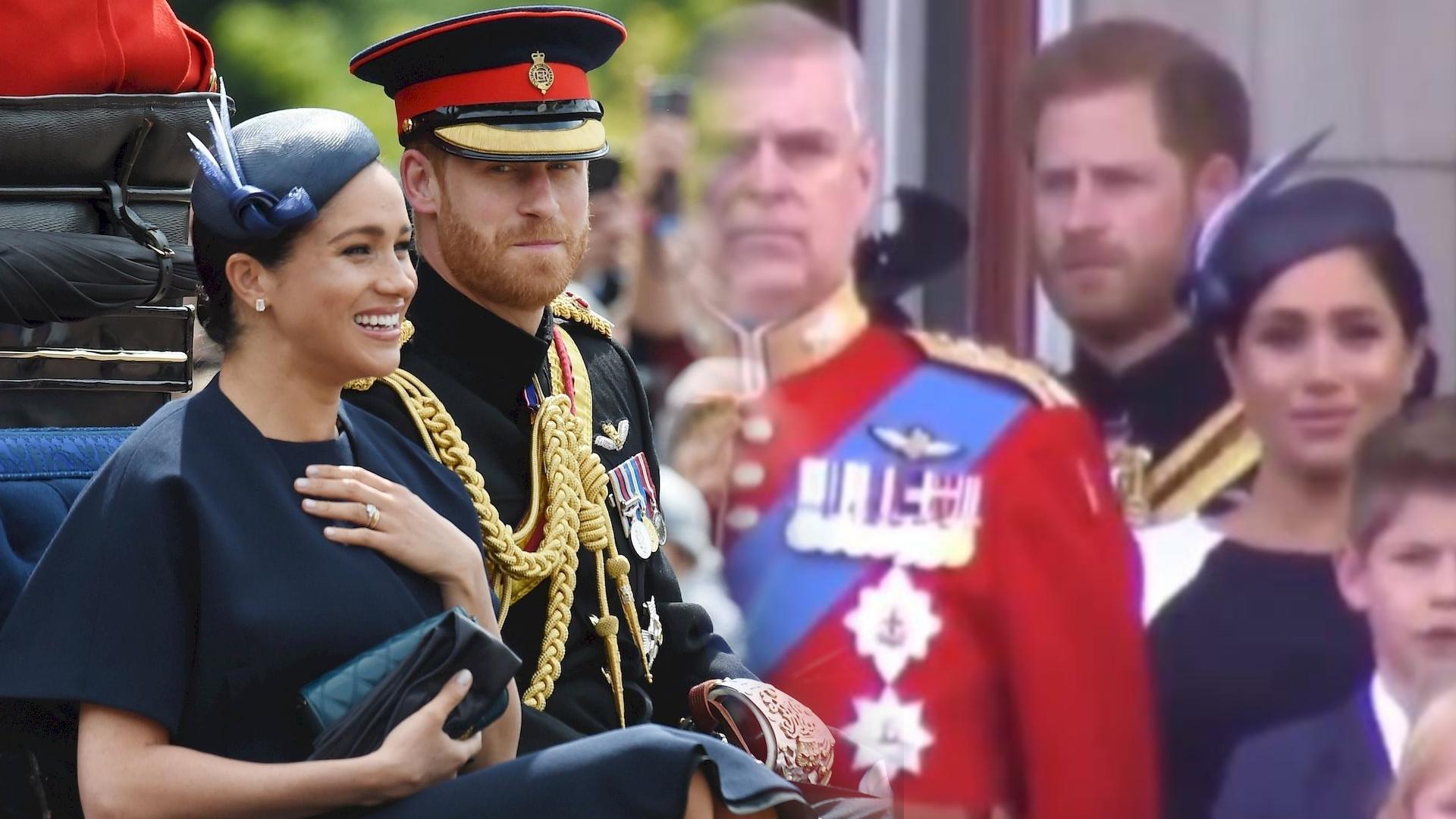 Coś się wydarzyło między Meghan i Harrym na balkonie – księżna prawie PŁAKAŁA
