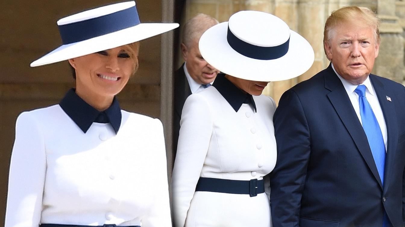 Melania Trump w piękny sposób ODDAŁA HOŁD księżnej Dianie. Brytyjczycy są tym zachwyceni!