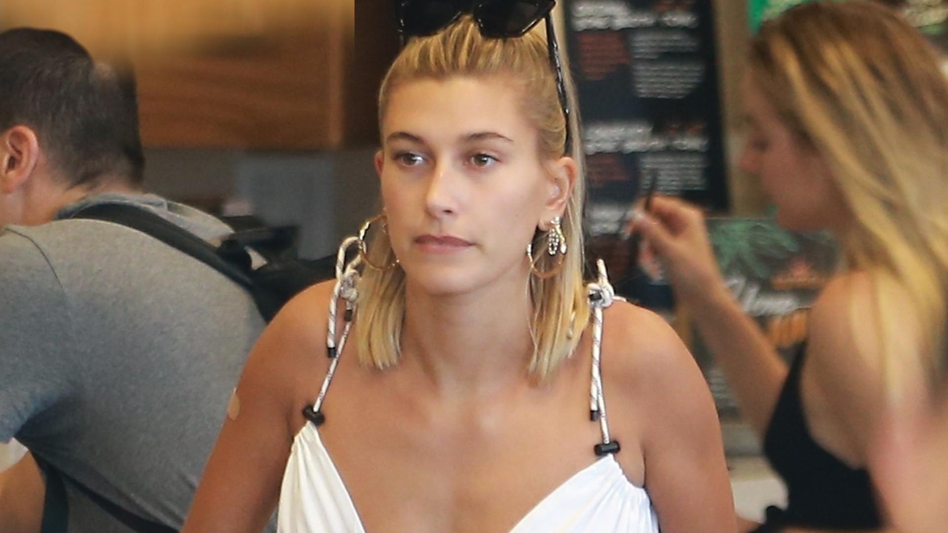 Hailey Bieber na zakupach w sklepie spożywczym. Tego działu nie ominęła!