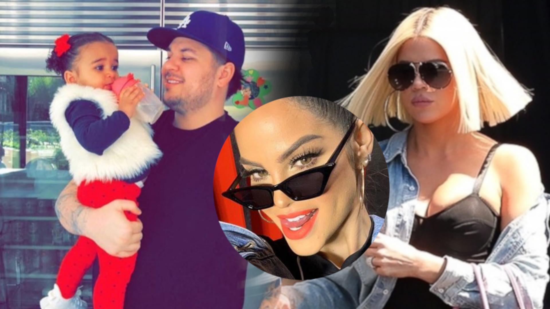 Khloe Kardashian nie lubi nowej sympatii Roba Kardashiana? Dopiekła jej w komentarzu