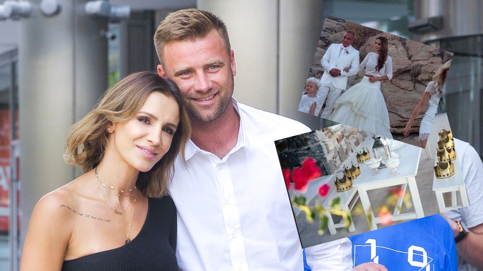 Sara Boruc i Artur Boruc świętują 5. rocznicę ślubu – żona piłkarza wyszła za mąż w sweterku! (ZDJĘCIA)
