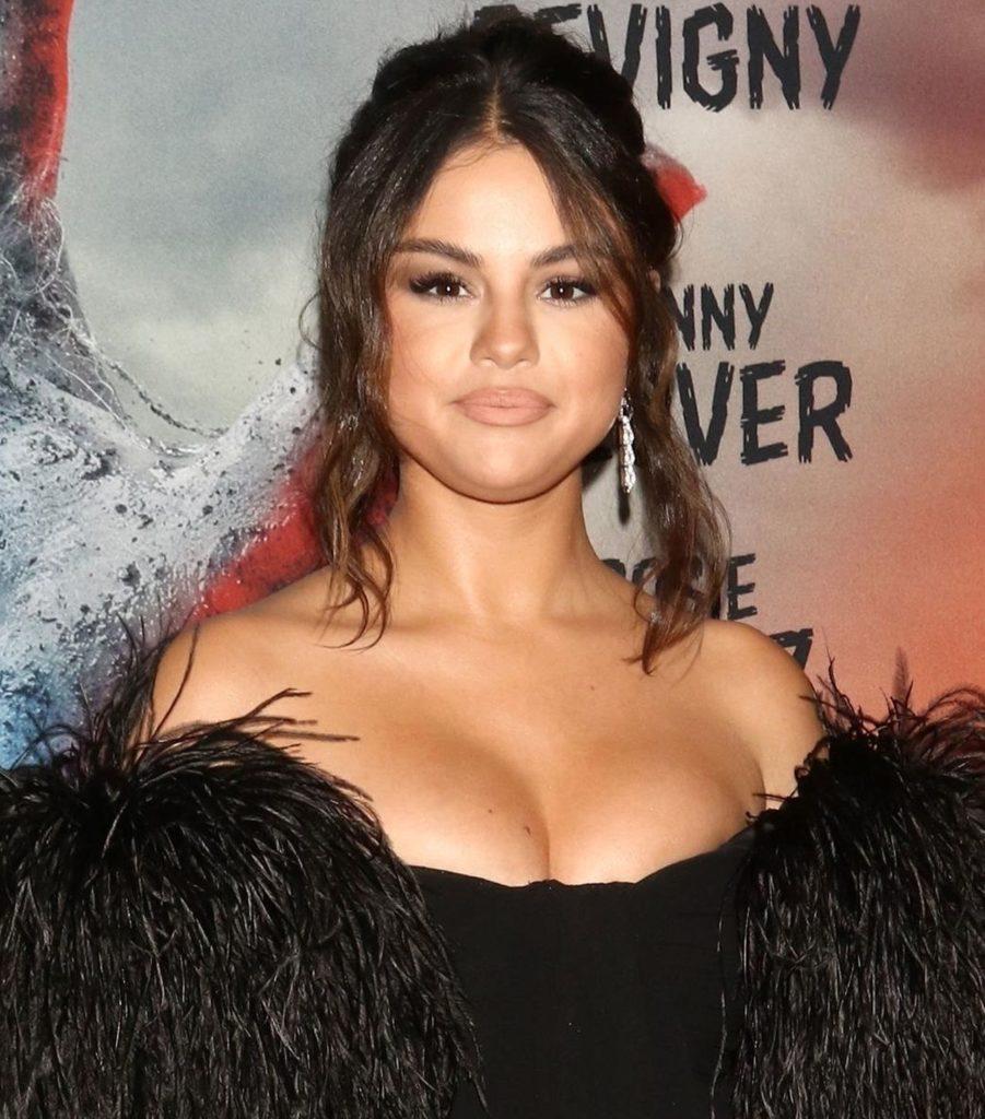Selena Gomez na premierze filmu
