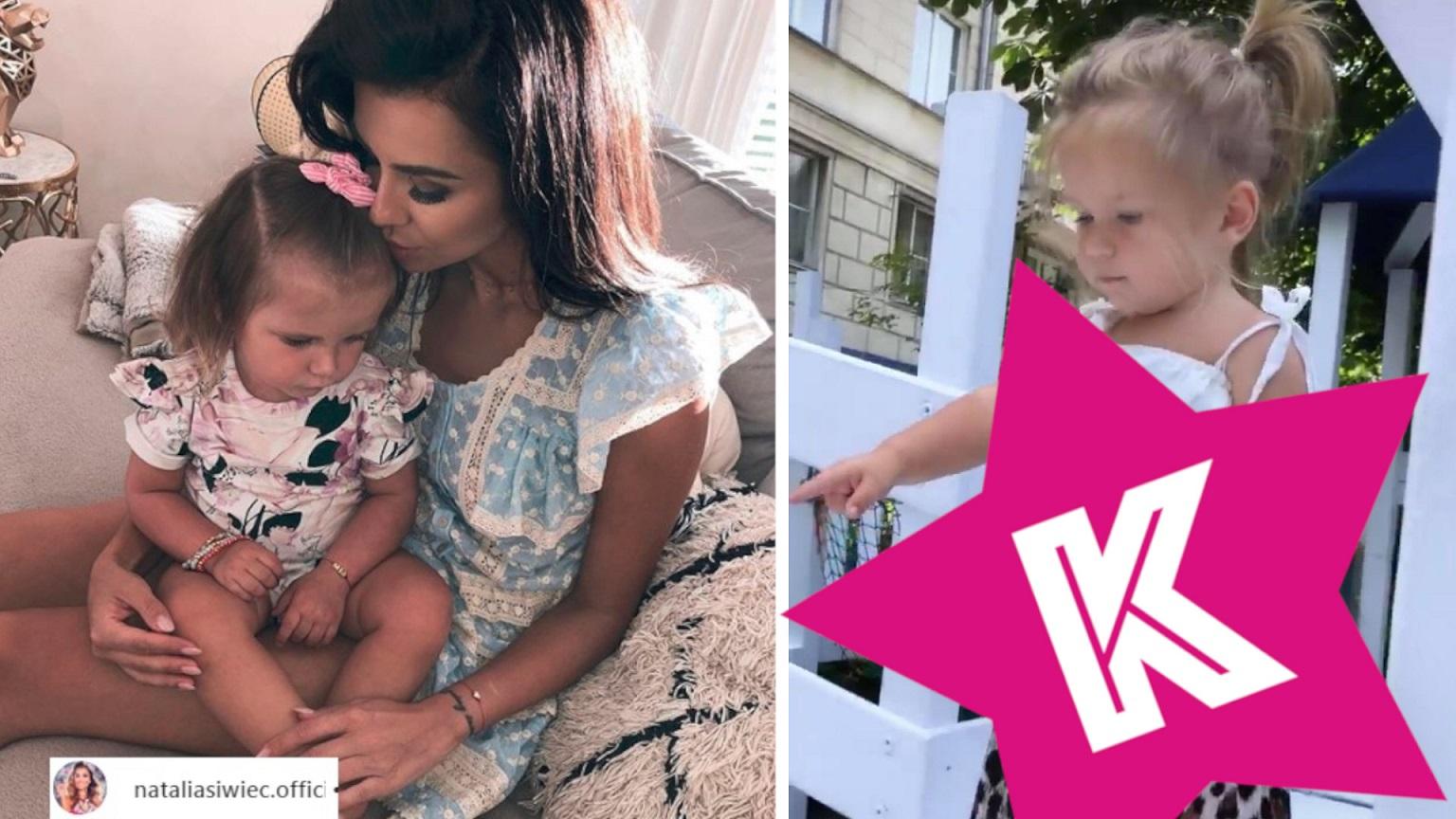Córka Natalii Siwiec wygląda, jak dorosła fashonistka – Co za komplecik