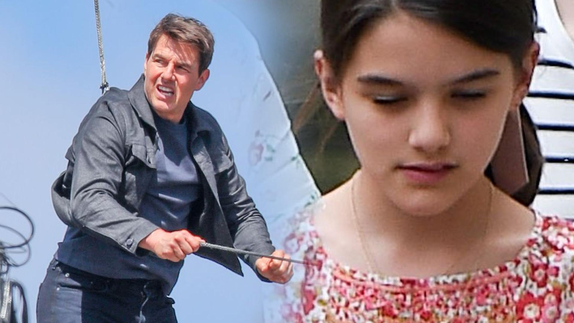 Katie Holmes powiedziała Suri, że Tom Cruise NIE JEST jej PRAWDZIWYM ojcem
