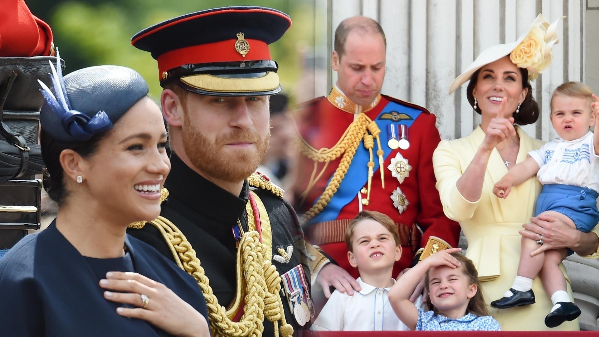 Księżna Kate i książę William chcieli w ten sposób PONIŻYĆ księżną Meghan i księcia Harry'ego? (ZDJĘCIA)