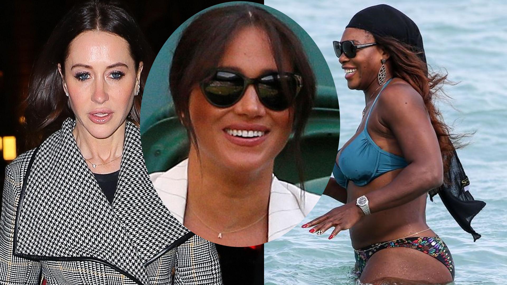 Czy to Serena Williams będzie chrzestną syna Meghan?