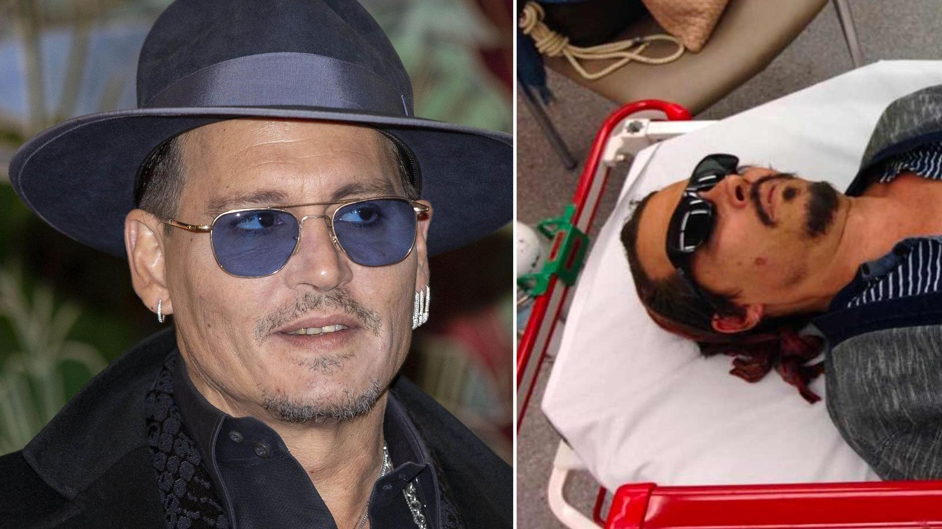Ujawniono szokujące zdjęcie Johnny'ego Deppa
