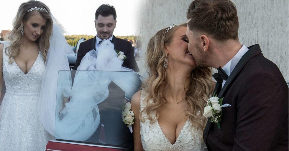 Daniel Martyniuk z żoną Eweliną Golczyńską