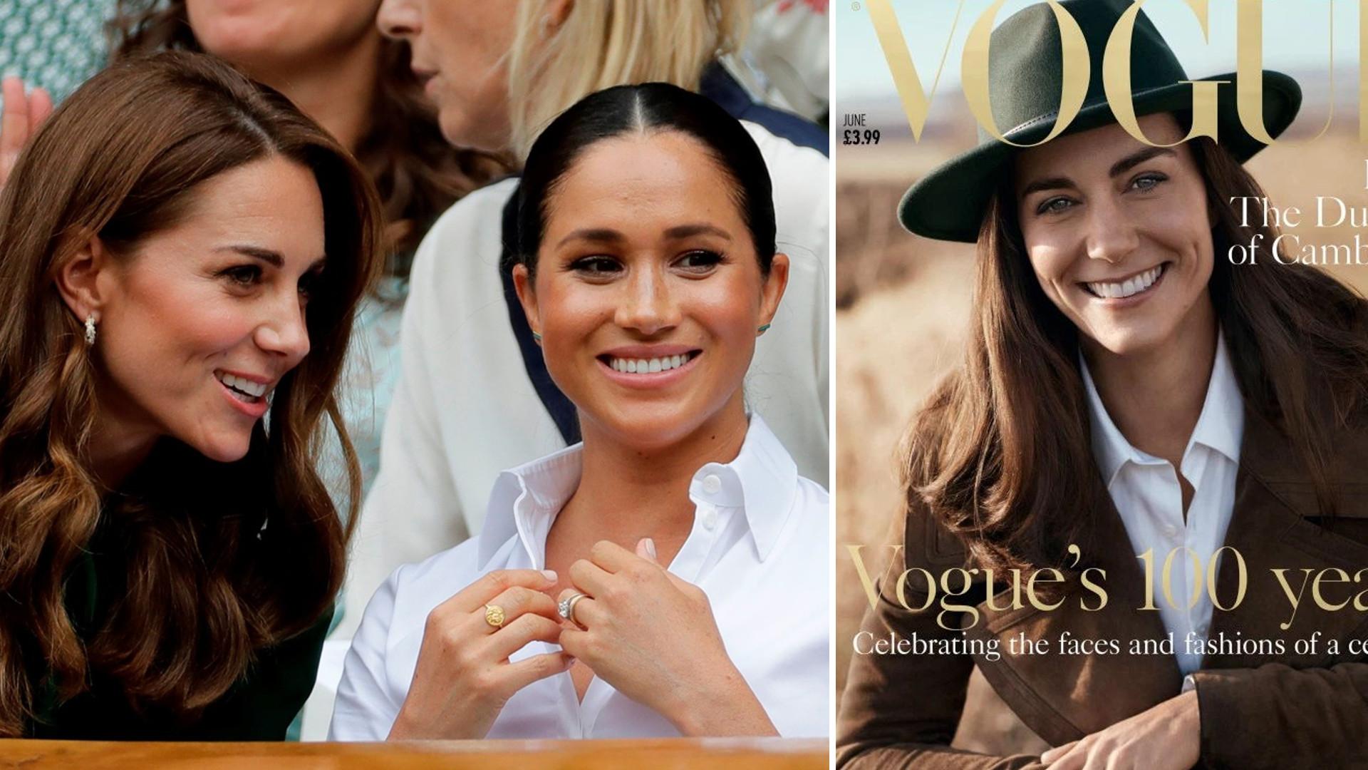 TO DLATEGO Meghan Markle NIE CHCIAŁA pojawić się na okładce Vogue – Kate Middleton zgodziła się w 2016 roku