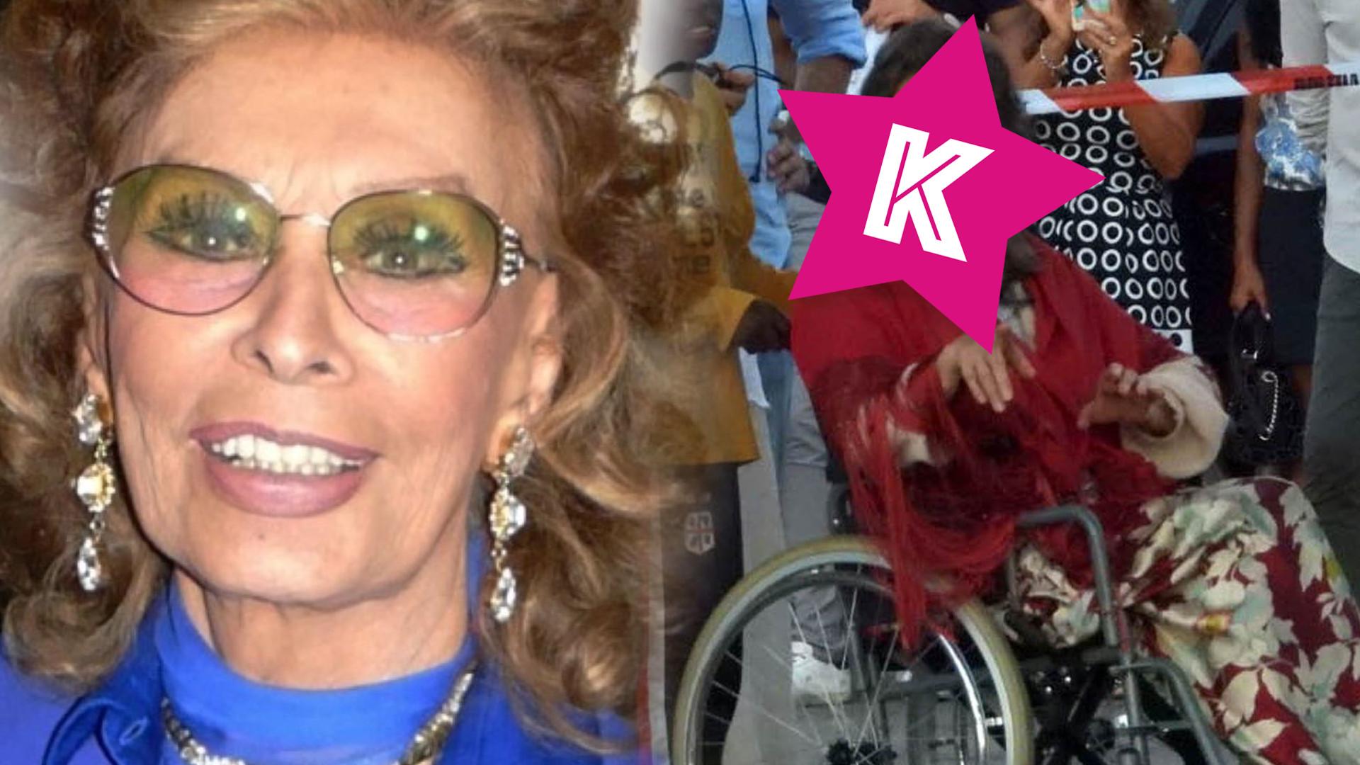 84-letnia Sophia Loren nie do poznania na planie nowego filmu (ZDJĘCIA)