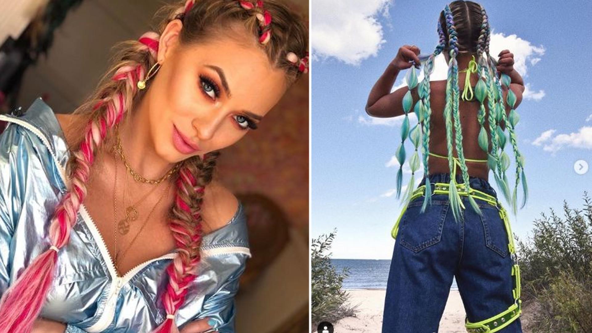 Kolorowe WARKOCZE robią furorę na Openerze – Maffashion i Marcelina dyktują trendy