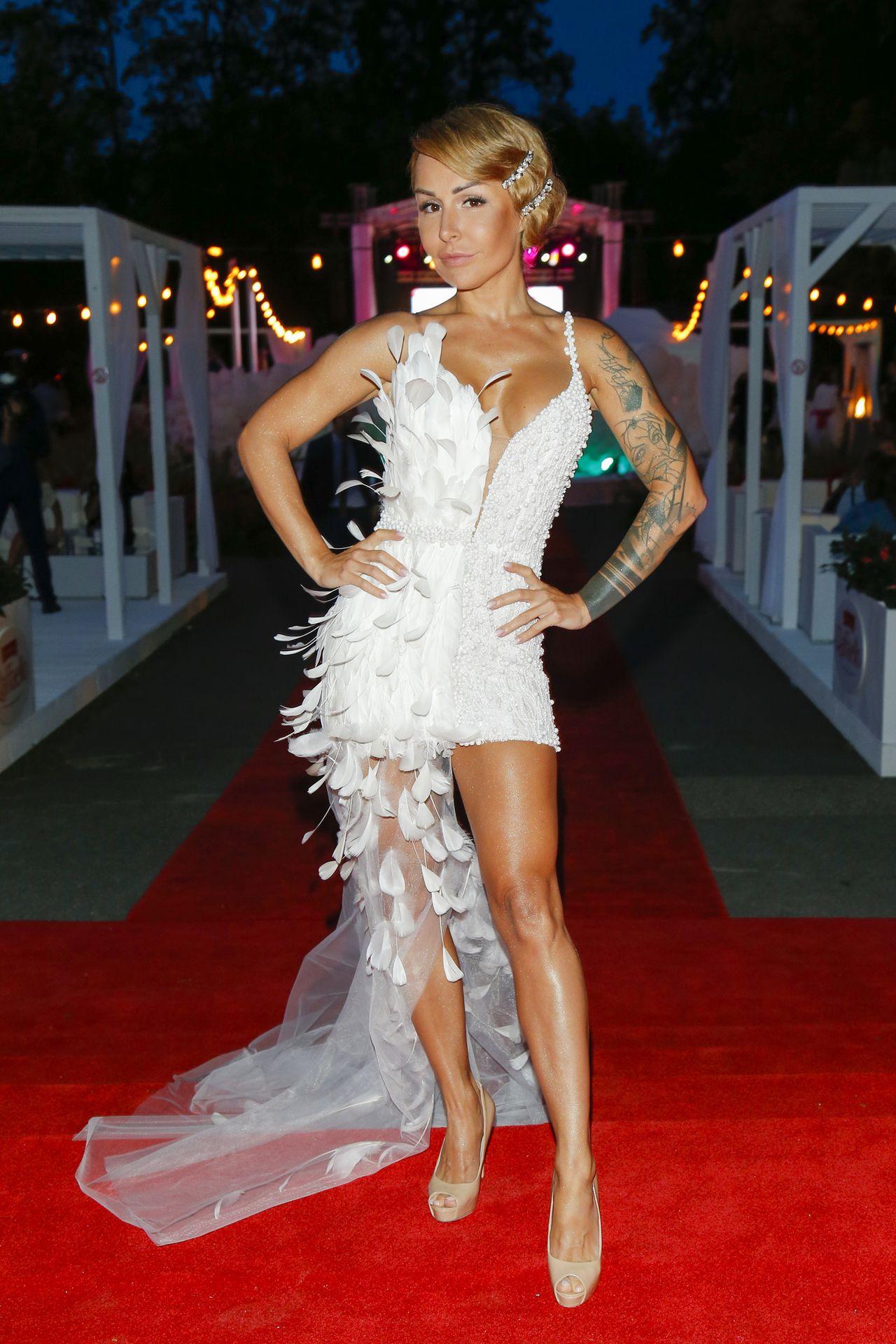 Jak Blanka Lipińska ubiera się na imprezy?