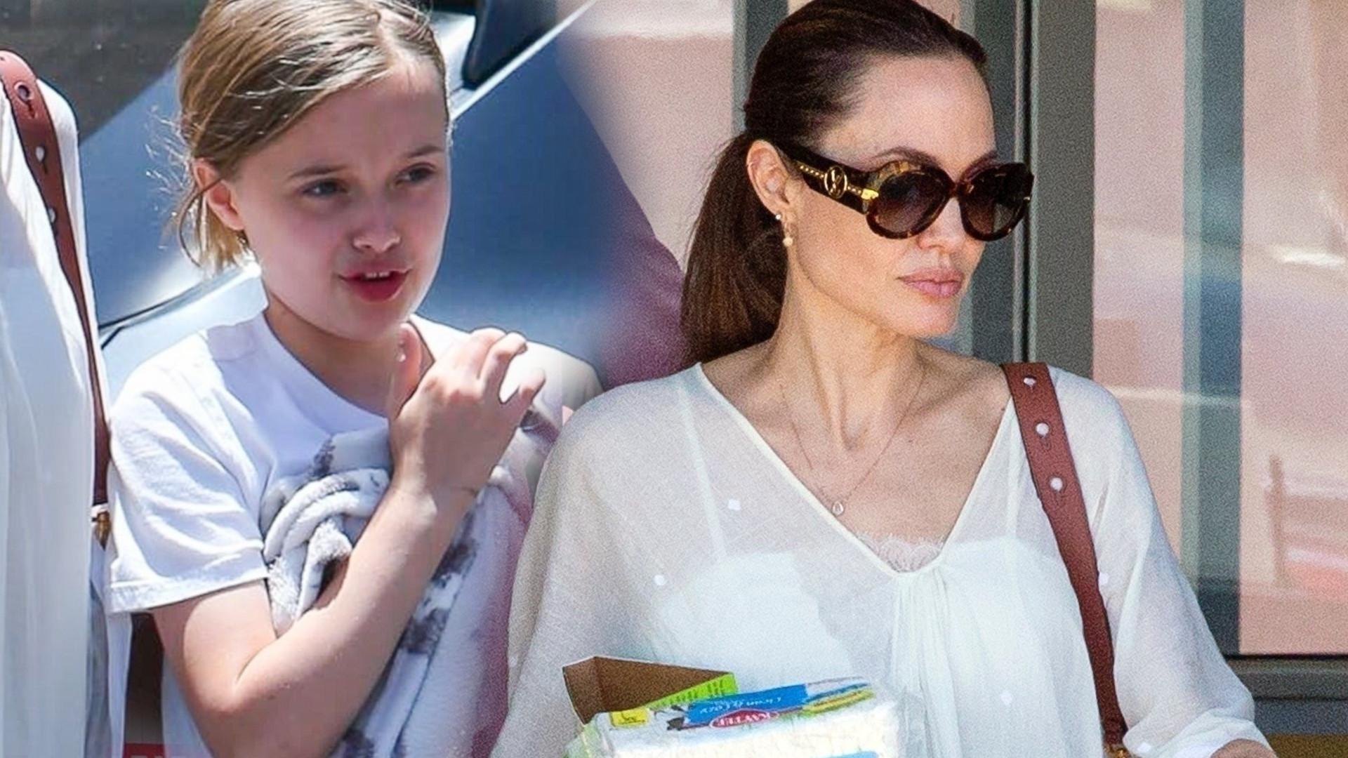 Angelina Jolie uszczęśliwiła córkę – Vivienne! Dziewczynka nie mogła powstrzymać uśmiechu (ZDJĘCIA)