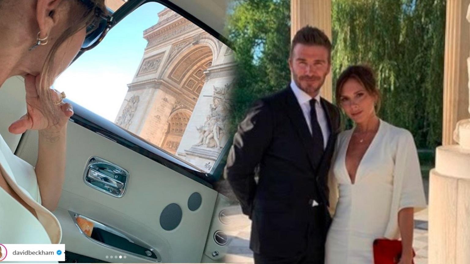 WOW! Tak Victoria i David Beckham świętują 20 rocznicę ślubu