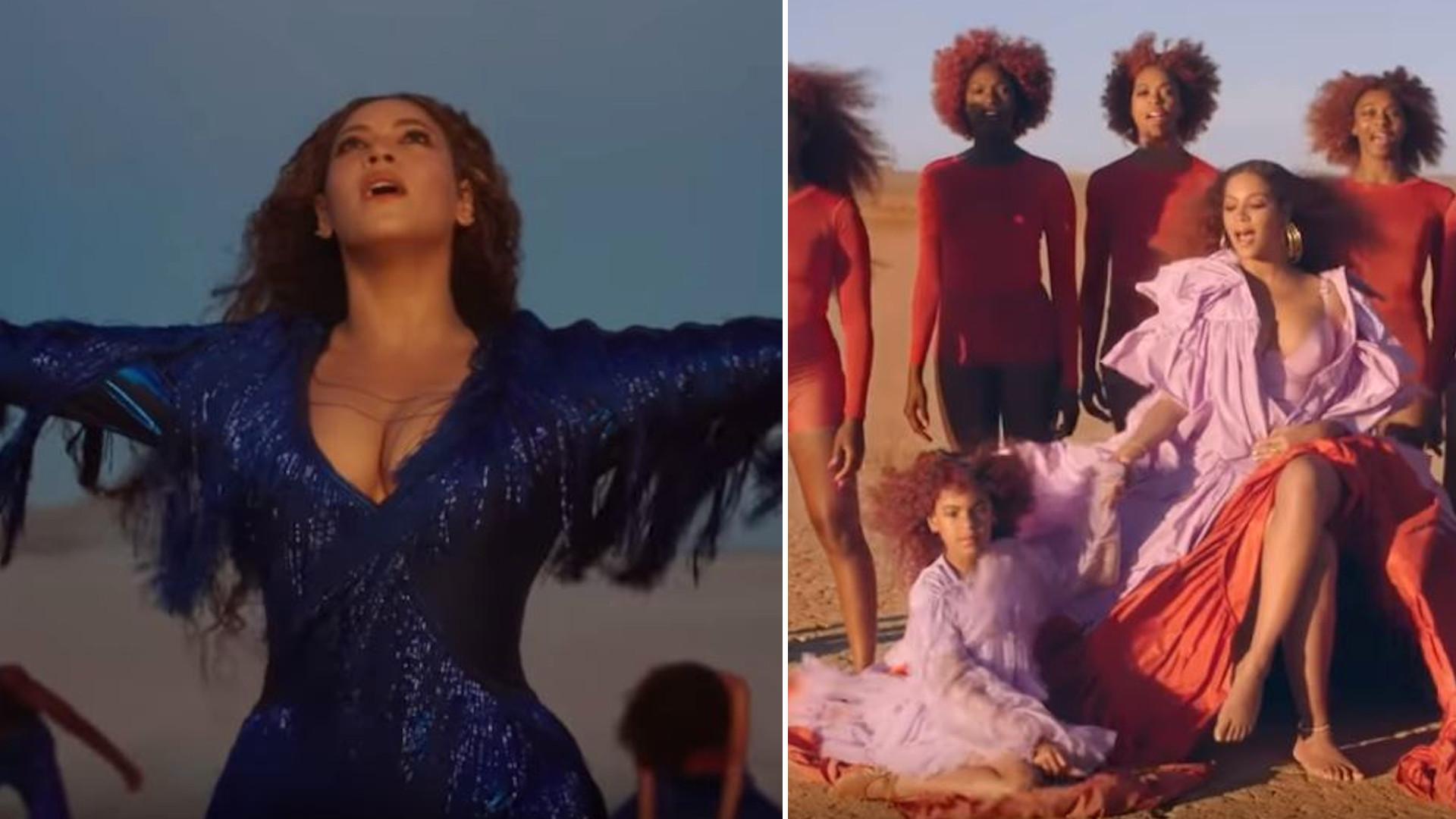 Blue Ivy wystąpiła w teledysku Beyonce do piosenki Spirit. Wygląda jak mała kopia mamy!
