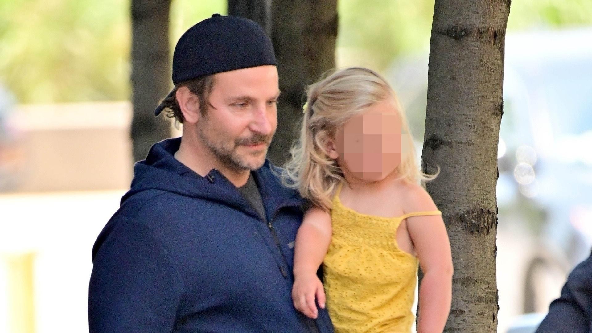 Bradley Cooper zabiera córkę spod domu Iriny Shayk. Dziewczynka spędzi u niego tydzień (ZDJĘCIA)