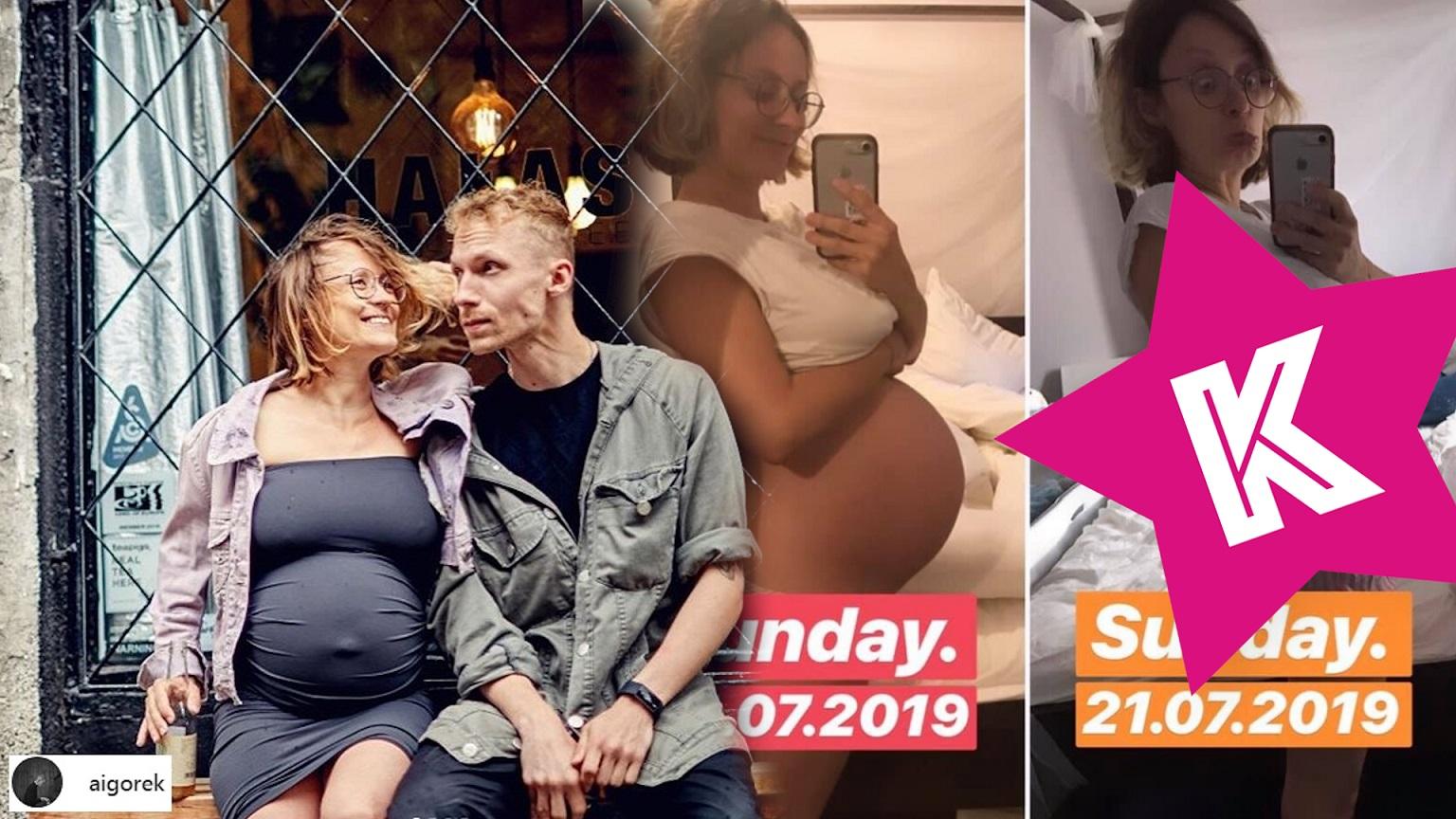Partnerka Igora Herbuta TYDZIEŃ po porodzie pokazała brzuszek: Najwspanialszy tydzień w życiu …