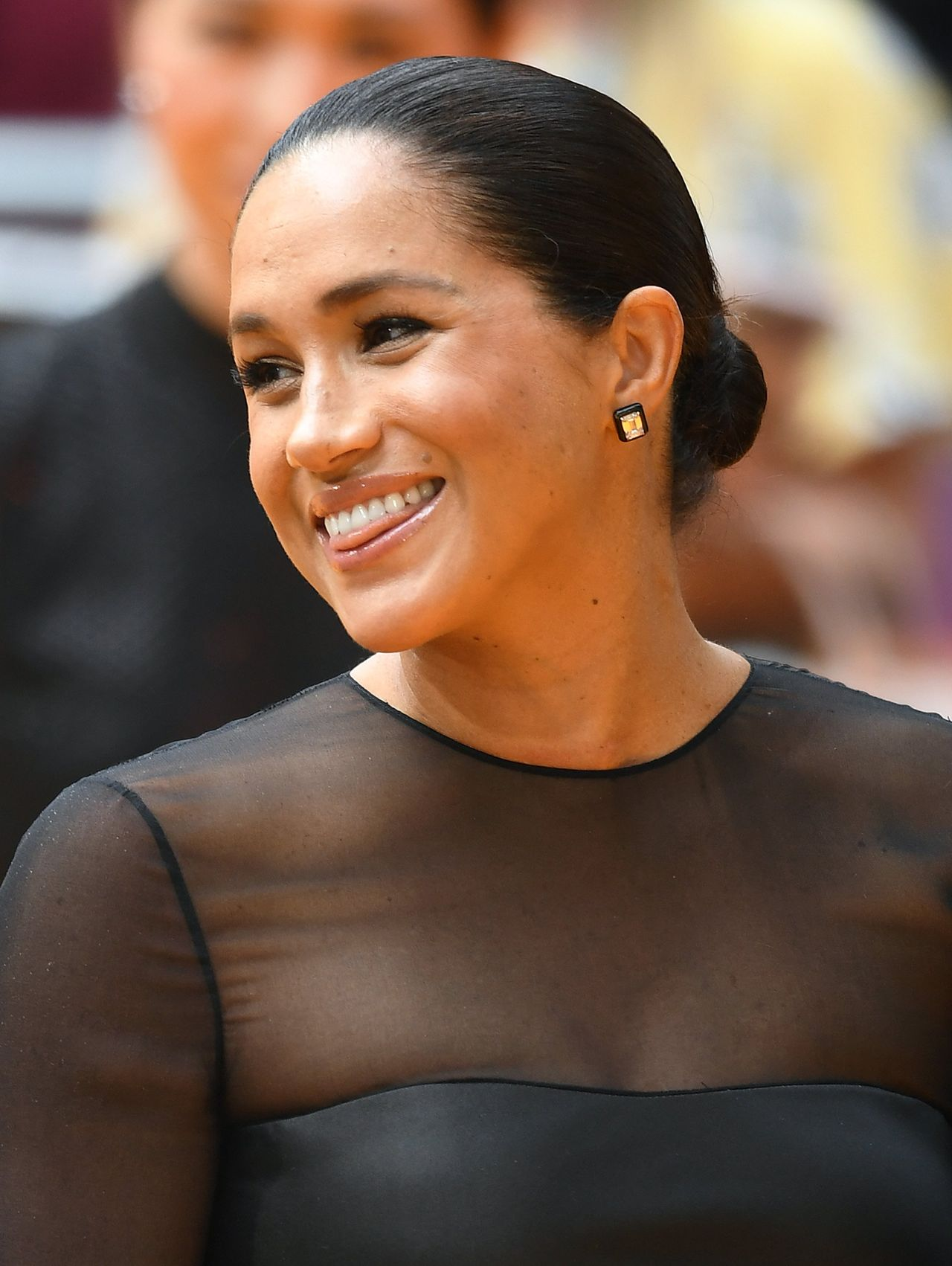 Harry and Meghan attend the European Premiere of The Lion King