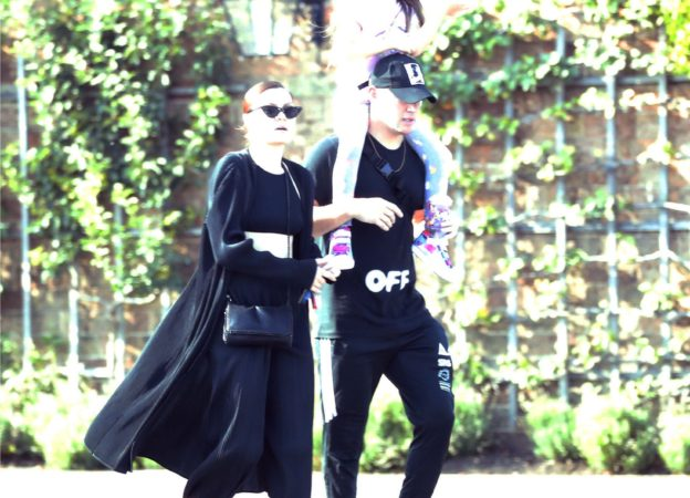 EXCLUSIVE: Jessie J and boyfriend Channing Tatum seen going for a day out at Hampton Court Palace