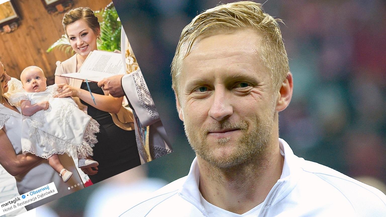 Kamil Glik ochrzcił córkę. Żona pokazała bardzo PRYWATNE zdjęcia