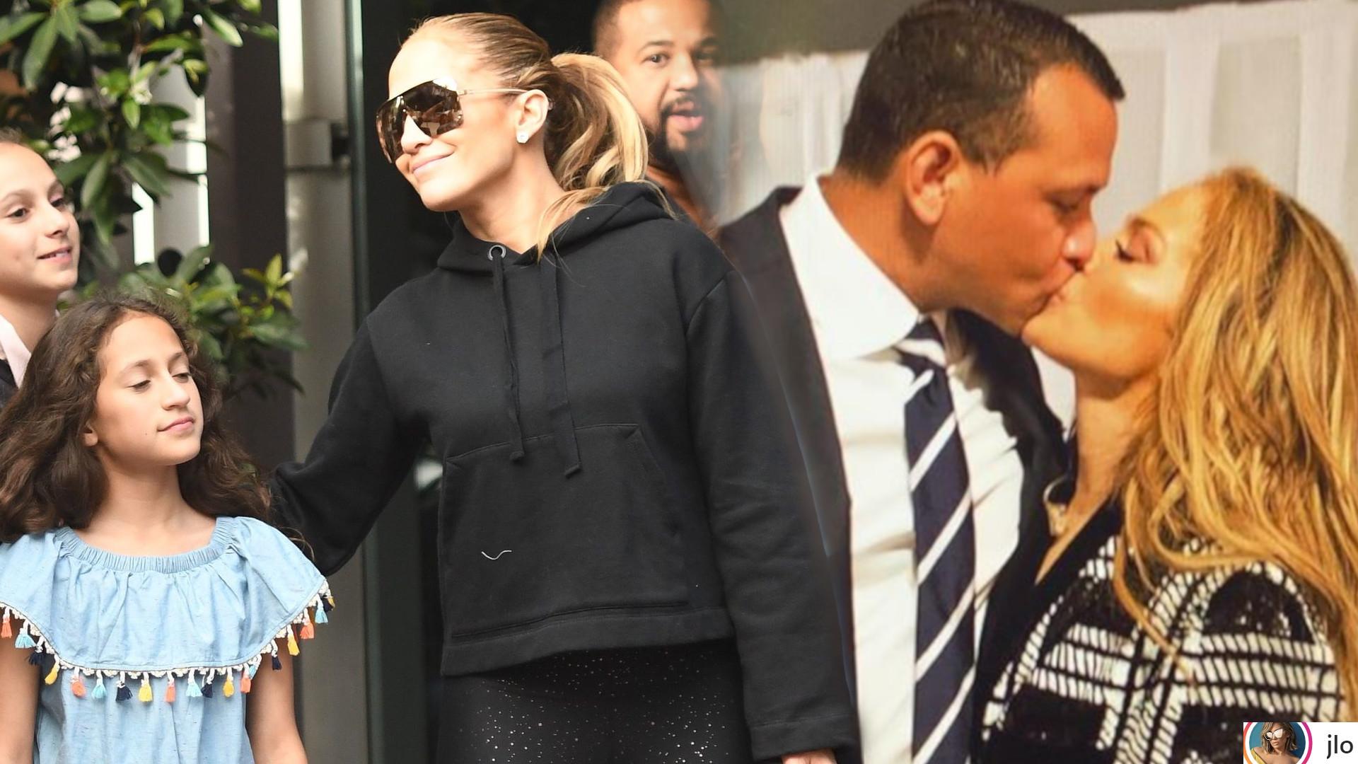Jennifer Lopez i Alex Rodriguez na zdjęciu z dziećmi – sportowiec ma PIĘKNE córki!