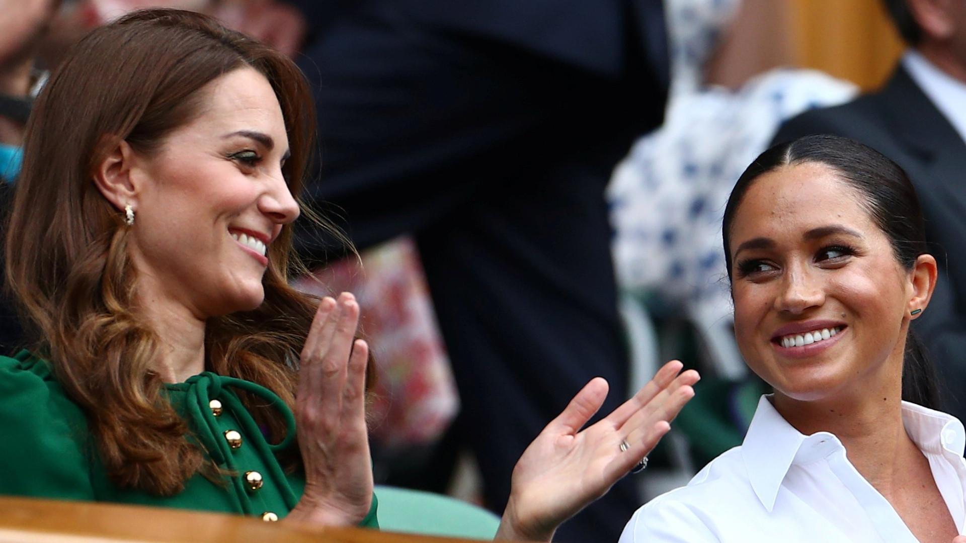 Księżne RAZEM na Wimbledonie – Kate wypadła SŁABO przy Meghan (ZDJĘCIA)