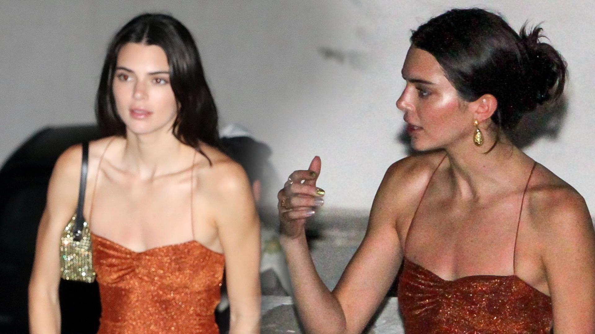 Ta sukienka Kendall Jenner to PRZESADA – było o krok od wpadki (ZDJĘCIA)