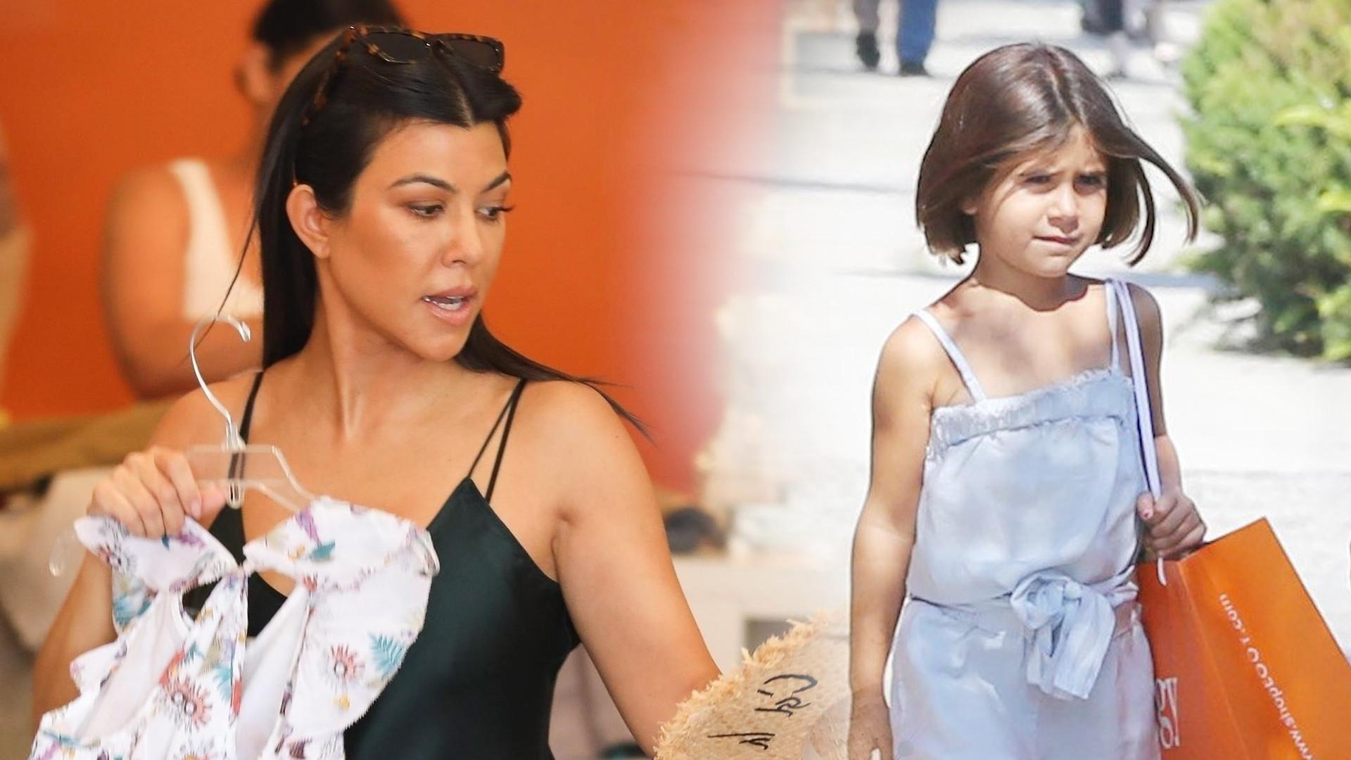 Kourtney Kardashian na zakupach z Penelope – czy to, co niosły w rękach to PRZESADA? (ZDJĘCIA)