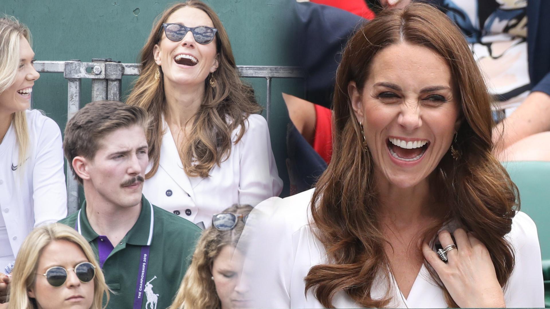 Księżna Kate na Wimbledonie w towarzystwie koleżanek – jej torebka od projektanta to absolutny hit mody (ZDJĘCIA)