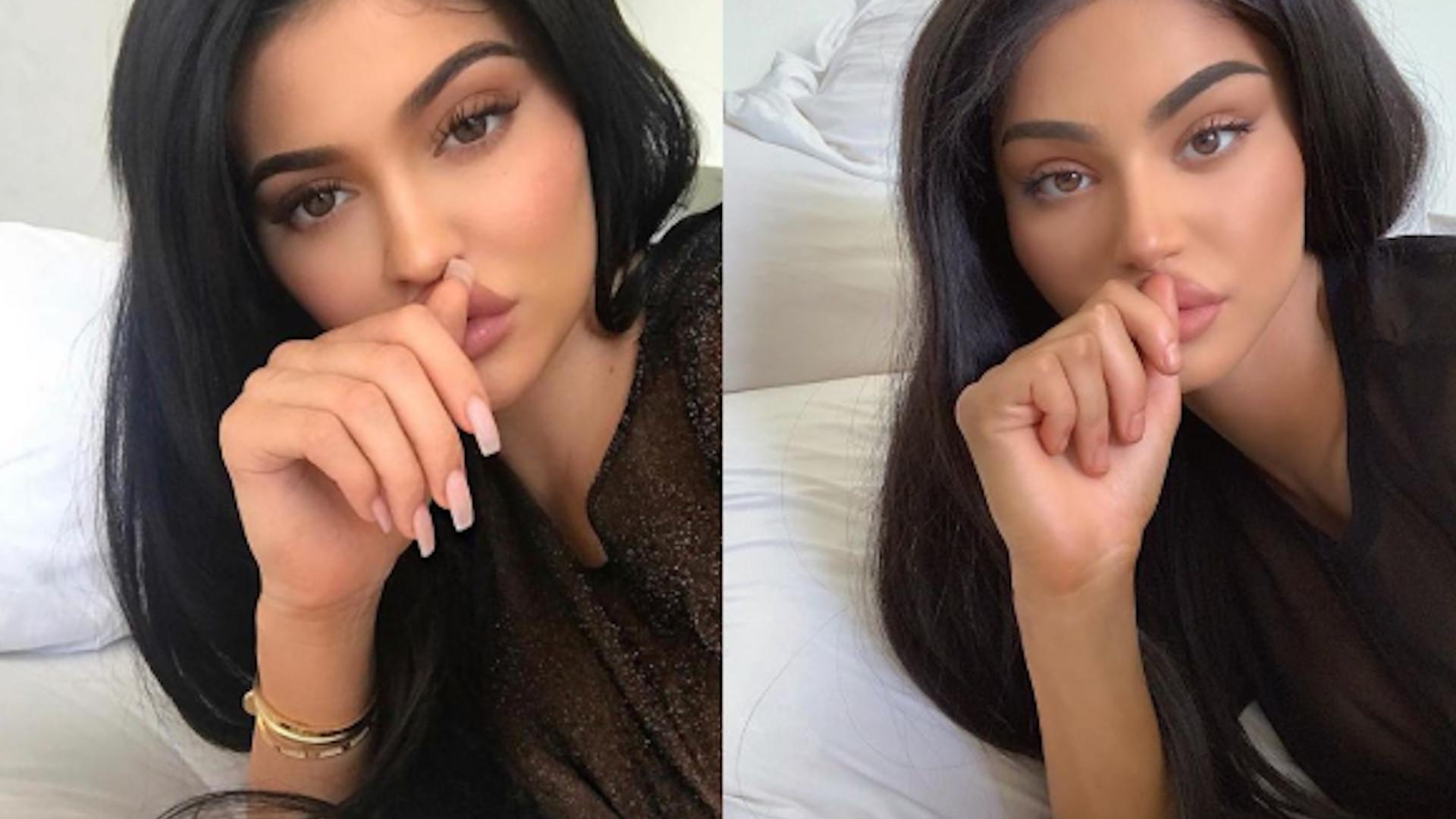 WOW! Ta modelka wygląda jak Kylie Jenner – odtworzyła jej zdjęcia
