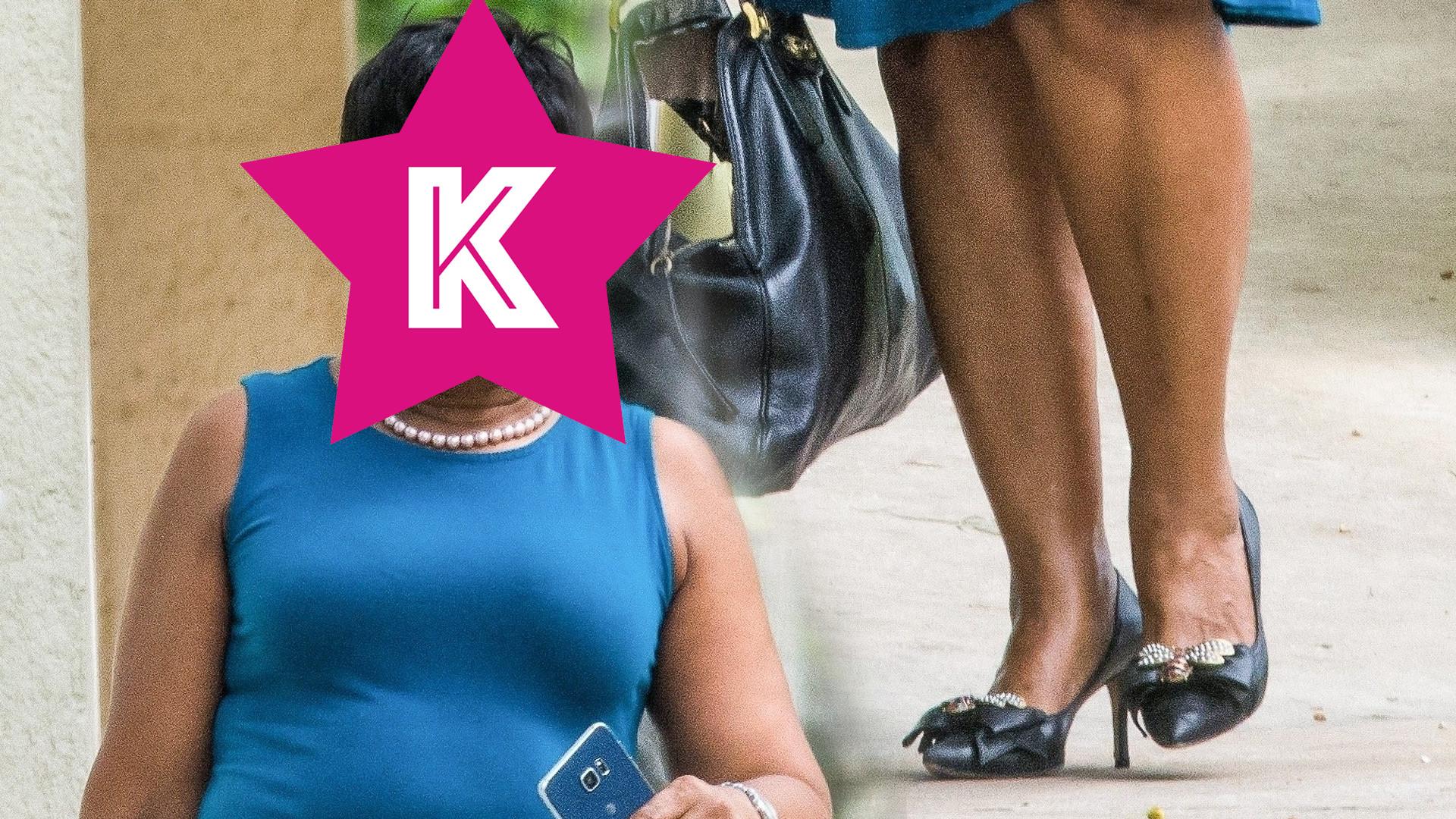 Mama Rihanny na spacerze – już wiadomo, po kim wokalistka odziedziczyła urodę (ZDJĘCIA)