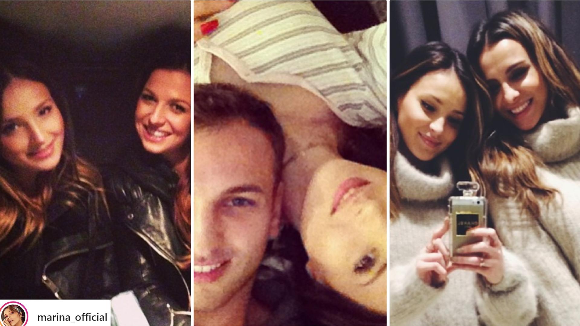 STARE zdjęcia Mariny na Instagramie – tak wyglądała PIERWSZA fotka z Wojtkiem Szczęsnym, którą wrzuciła