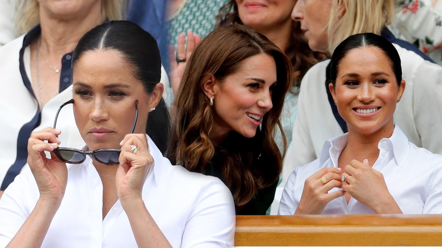 Dlaczego Meghan Markle opuściła szybciej Wimbledon niż księżna Kate?