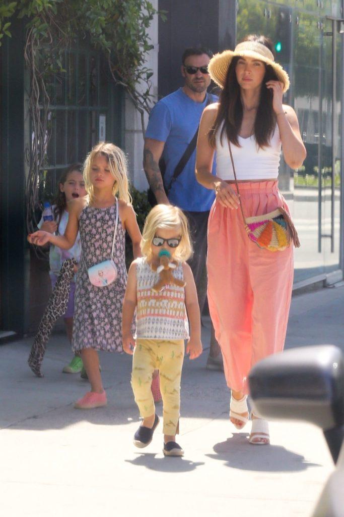 Megan Fox z rodziną