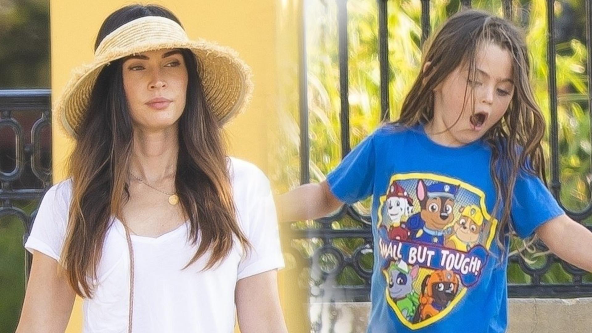 Megan Fox z synami na lunchu – ich wygląd od lat wzbudza kontrowersje (ZDJĘCIA)