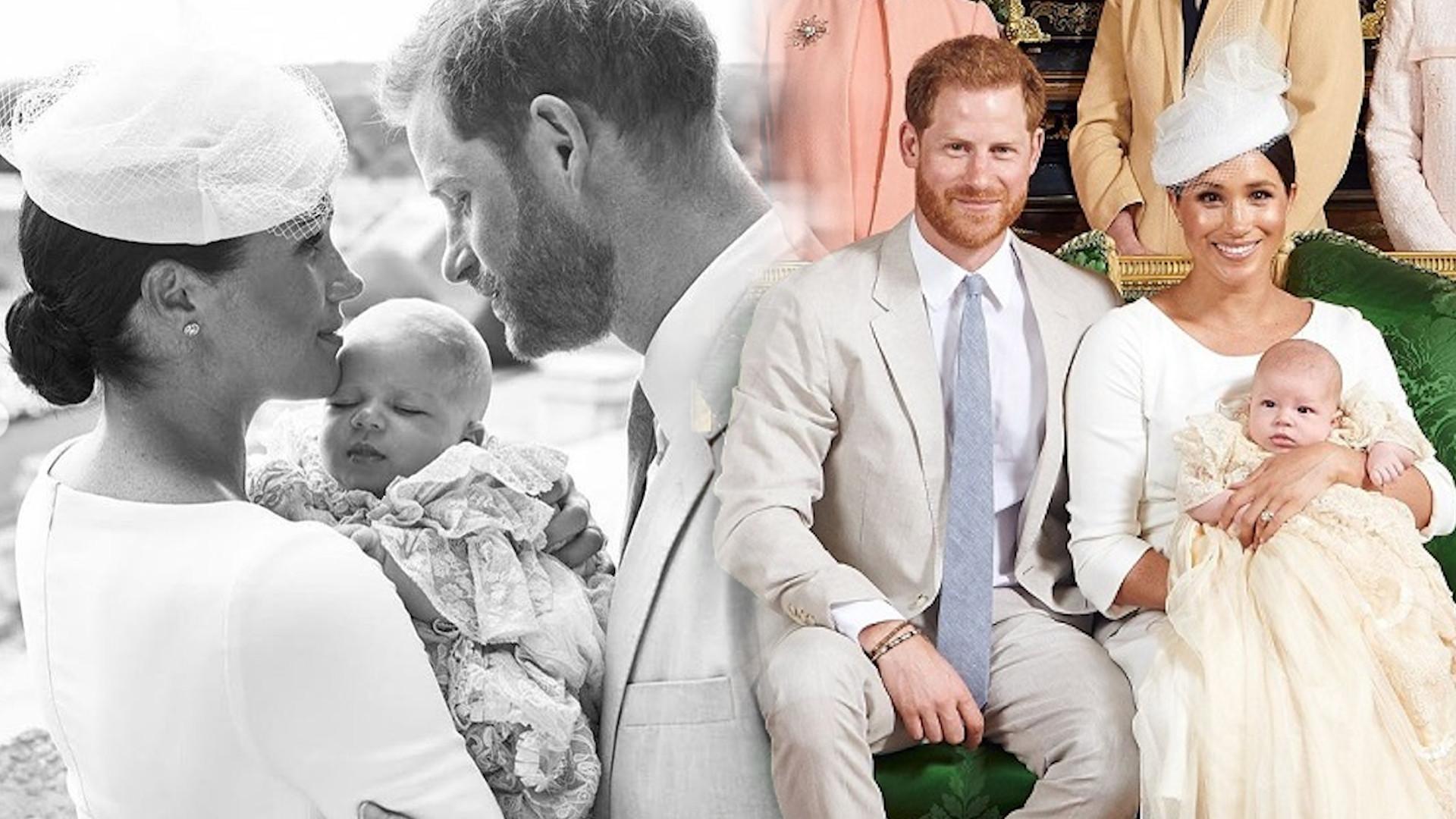 Już wiadomo, kto jest chrzestnym Archiego, syna Harry'ego i Meghan