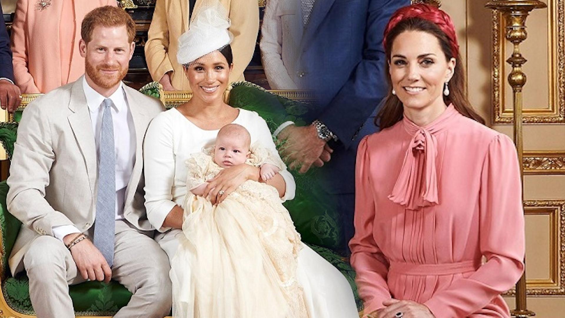 Księżna Kate NIE powinna tego zakładać na chrzest Archiego. DOPIEKŁA księżnej Meghan
