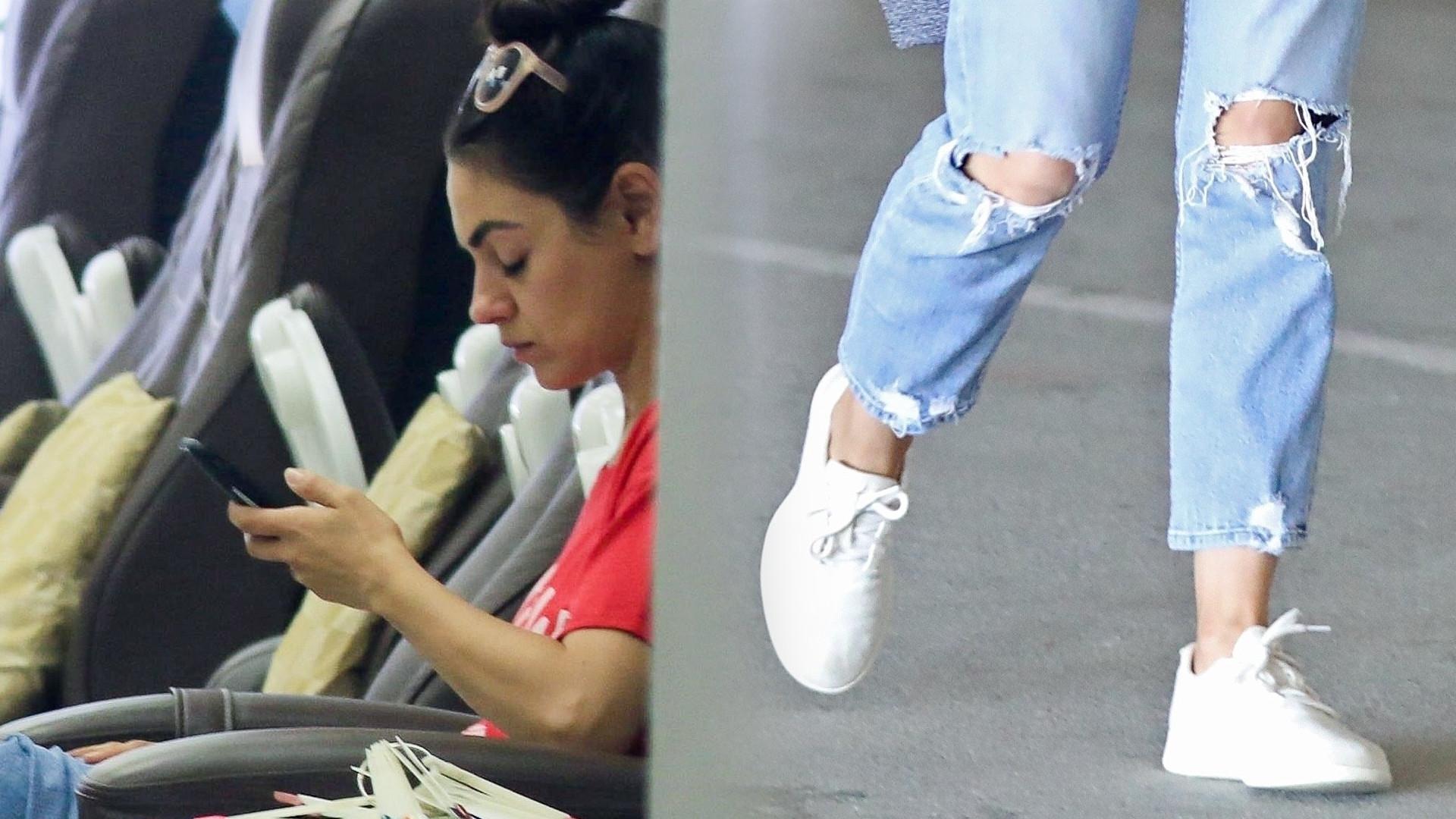 Mila Kunis na co dzień ma GDZIEŚ makijaż – tak poszła do salonu kosmetycznego (ZDJĘCIA)
