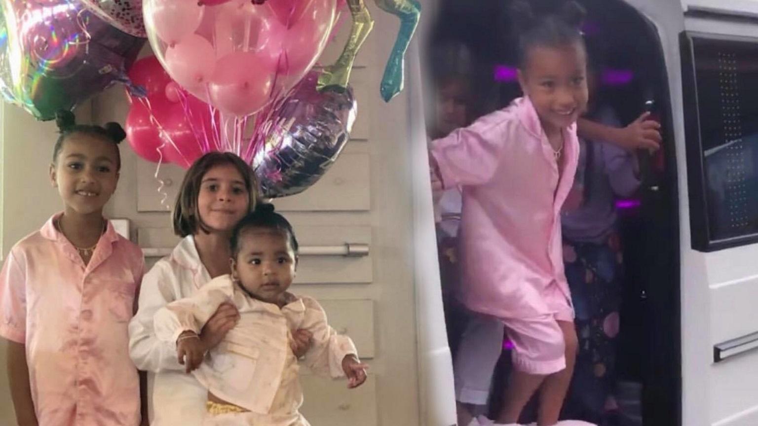 """Kourtney Kardashian i Scott Disick zorganizowali córce urodzinki """"na bogato"""" . Zabrakło ważnych kuzynek"""