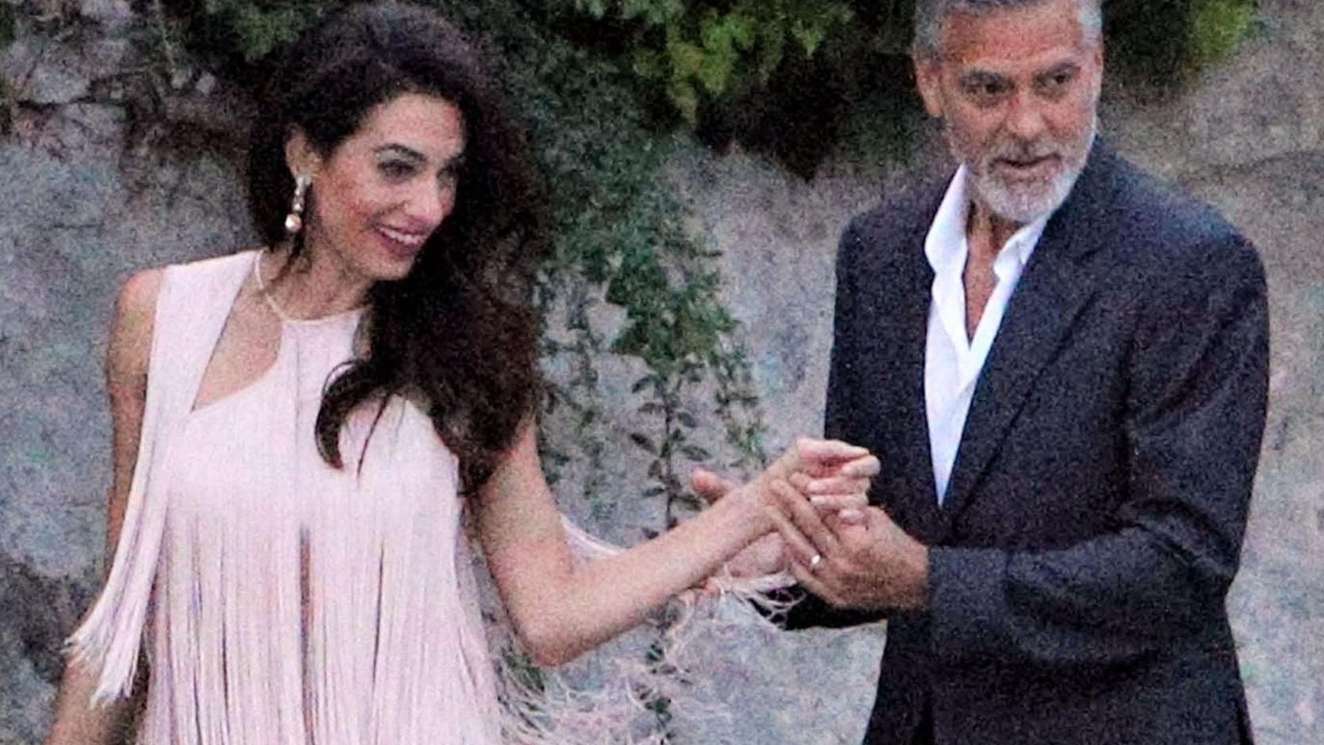 George Clooney wygląda staro przy swojej żonie (ZDJĘCIA)