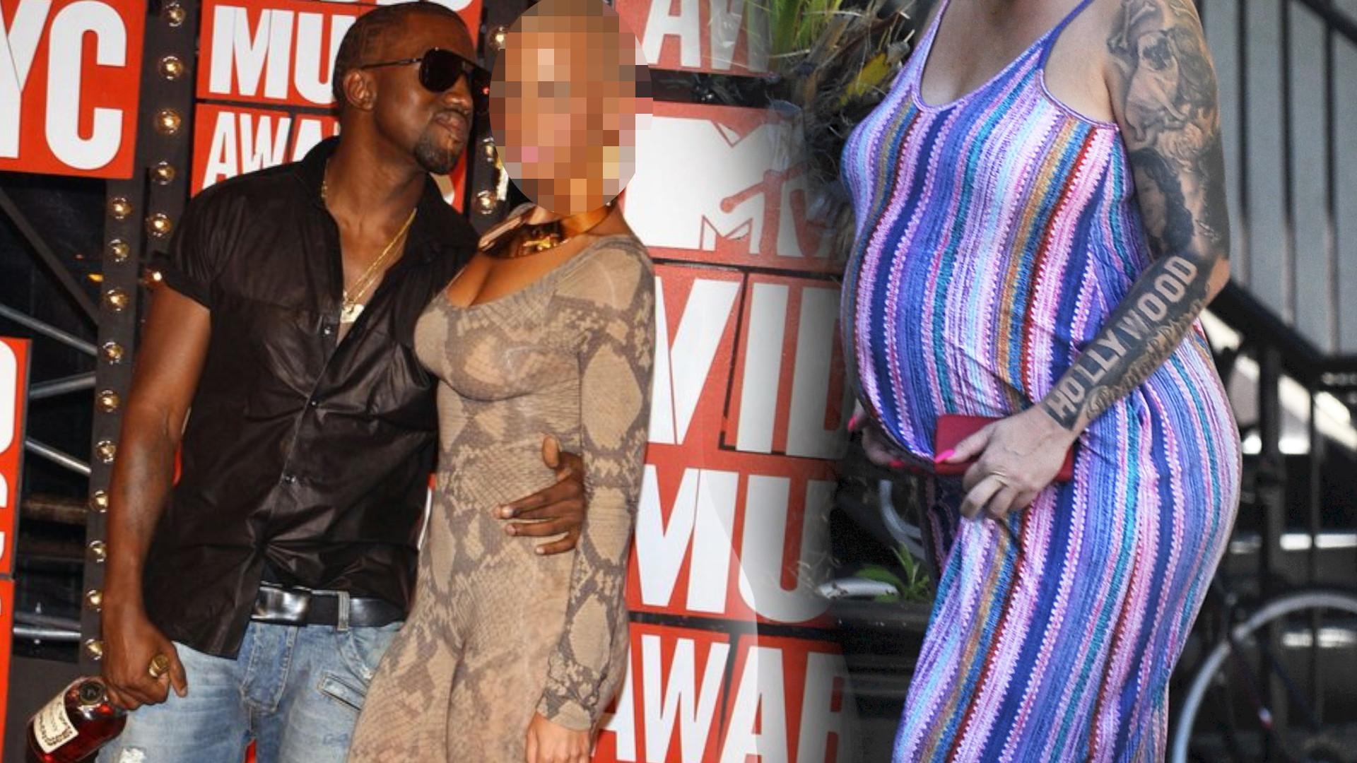 Była dziewczyna Kanye Westa z ogromnym ciążowym brzuchem (ZDJĘCIA)